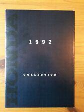 HONDA, Genuine Brochure, Motorcycle Range, 1997 Collection