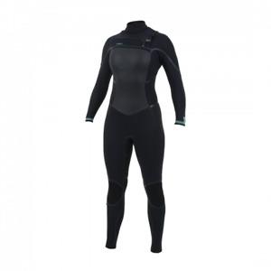O'Neill Psycho Tech 5/4 + Womens Chest zip winter wetsuit Black - US 8