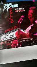 BB King Live At The Apollo 1991   promotional record  store poster PBX26
