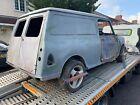 1981 Austin Mini Van Barn Find Unfinished Project