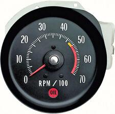 oer 5657405 1971-1972 chevy chevelle ss & monte carlo l48 & l65 tachometer