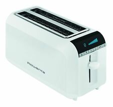 Rowenta TL6811 white toaster for 4 slices with LCD display