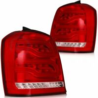 LED for 2001-2007 Toyota Highlander Tail Lights Assembly Rear Brake light Lamp