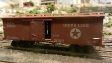 Central Valley HO Old Time Boxcar, PRR Union Line, Exc.