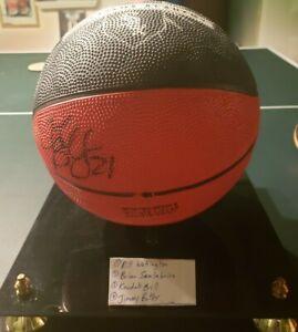 Chicago Bulls Multi Signed F/S Ball Jimmy Butler, Wennington, Gill, Scalabrine