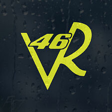 VR46 Valentino Rossi Helmet Motorbike Car Decal Vinyl Sticker