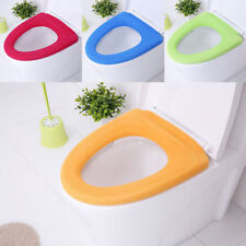 Bathroom Toilet Seat Warmer Cover Washable Soft Case Lid Mat Protects Closestool