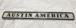 1967?~1970? AUSTIN AMERICA GRILLE EMBLEM