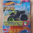 Hot Wheels Monster Trucks Dodge Charger RT 17/75 Twisted Tredz 1/6 FYJ44