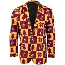 Cleveland Cavaliers Super Fan Sport Coat Jacket Size (48) XL Ugly Christmas S11