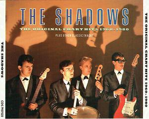 (2CD's) The Shadows - The Original Chart Hits 1960-1980 - Apache, Atlantis, u.a.
