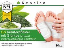 10 Kenrico CCI Kräuterpflaster avec Thé Vert (Gyokuro)