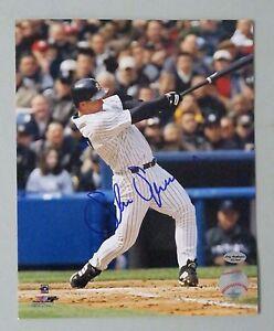 125002 Shane Spencer Signed 8x10 Photo AUTO LEAF COA New York Yankees