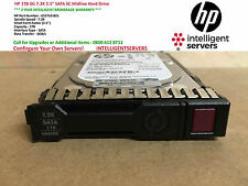 "HP 1TB 6G 7.2K 2.5"" SATA SC Midline Hard Drive ** 655710-B21 / 656108-001 **"