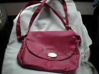 NEW UNUSED BRIGHT PINK SATCHEL STYLE SHOULDER BAG NATHALIE  ANDERSEN GREAT ITEM