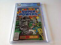 SUPER POWERS 3 CGC 9.8 WHITE PG DARKSEID WONDER WOMAN DOCTOR FATE HIGHEST DC