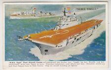 Shipping postcard - HMS Eagle, Fleet Aircraft Carrier (A220)