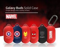 Official Marvel Samsung Galaxy Buds Earphone Case Cover With Clip 100% Authentic