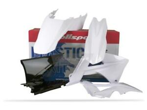 Kit plastique POLISPORT blanc GAS GAS EC 125 / 200 / 250 / 300 2011