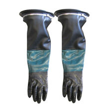 Gloves Set Protection Heavy Duty PVC Durable for Sand Blasting Cabinet