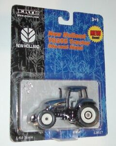 NEW HOLLAND TG255 TRACTOR WITH CAB #13617 DIECAST SCALE 1/64 BLUE ERTL VINTAGE