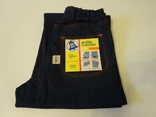 Vintage 1950s BLUE BELL BOXER LONGIES Indigo Denim Pant Jeans Kids 10 SANFORIZED