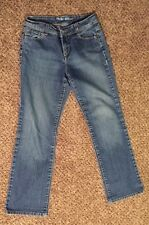 Style&co Straight leg Petite blue jeans women's 4 P (W:28in INS:29in )Distressed