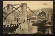 Alte Original Foto AK PK Ansichtskarte ca. 1900:Bad Nassau / Lahn - Kettenbrücke