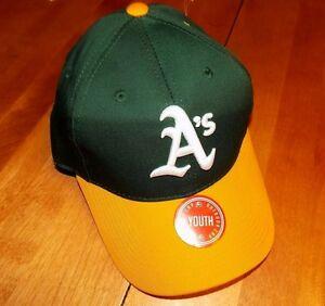 OAKLAND A's MLB Adjustable OC Sports Major League Baseball Team Youth Cap NEW