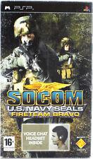 SOCOM : U.S.Navy Seals Fireteam Bravo avec casque PSP