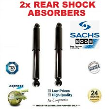 2x SACHS BOGE Rear Axle SHOCK ABSORBERS for BMW X5 (E70) 3.0d 2007-2008