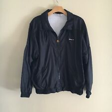 Ellesse Men's Vintage Black Nylon Zip-up Windbreaker Jacket Sz 12
