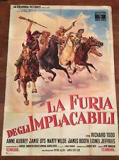 MANIFESTO,4F LA FURIA DEGLI IMPLACABILI,1960,Hellions,Todd,western,CAPITANI  G