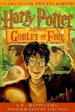 Harry Potter Goblet of Fire 4th -  Audiobook (12 Cassettes) by J K Rowling - NEW