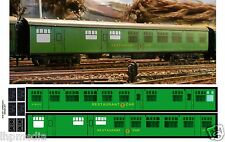 HORNBY DUBLO BR SR RESTAURANT CAR CONVERSION TRANSFERS LHP HD052