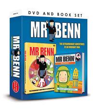 MR BENN EXTRAORDINARY ADVENTURES OF AN ORDINARY MAN BOOK & DVD KIDS GIFT BOX SET