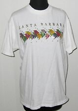 """Santa Barbara California Multi Fish White Short Sleeve 38"""" Bust T-Shirt"""