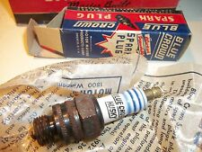 "- 10 Genuine Blue Crown Spark Plugs -Original M5  NIB 14MM 3/8"" Reach IndivBoxes"
