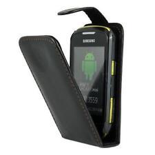 Samsung S5570 Galaxy Mini  - Housse Etui Clapet Slim + Bonus 1 protection écran