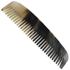 Handmade Natural Bovine Horn Carved Medieval Renaissance Comb Hairstyling Tool