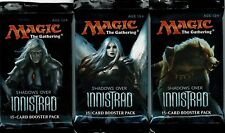 MAGIC THE GATHERING   SHADOWS OVER INNISTRAD    3 PACK LOT   MTG