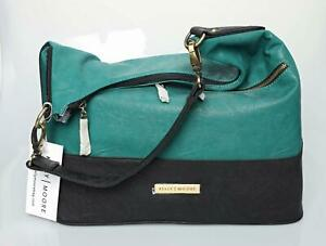 Kelly Moore Camera Bag with Removable Basket (Spring Jade) Brownlee Leather NEW
