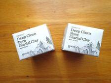 2x GOODAL Deep Clean Pore Glacial Clay Wash Off Pack! NIB Travel Sizes 0.33 fl o
