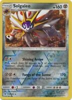 Solgaleo 87/145 SM Guardians Rising Reverse Holo Rare Pokemon Card MINT TCG