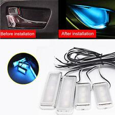 Car Door Handle Lighting Auto Interior Accessories Lamp Armrest Bowl Light 3-LED