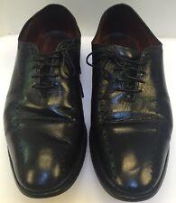 Allen Edmonds Hastings Black Leather Oxfords Balmoral Shoe US Made Men 10 D 1205