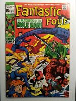 Fantastic Four #89 (Aug 1969, Marvel) Mole Man, Jack Kirby (B)