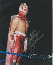 Ultimo Dragon Signed WCW 8x10 Photo #1 WWE NJPW