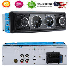 Single DIN Car Stereo MP3 Player Bluetooth FM Radio With Camera USB