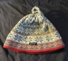 Jytte Wool Winter Ski Hat Tassel USA Made Beanie 51a734b2240e